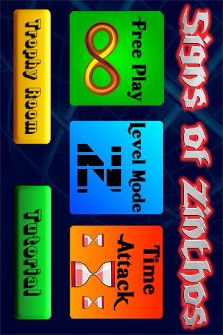Screenshot Signs of Zinthos